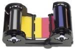 Nisca Лента полноцветная красящая c УФ панелью YMCKFК NiSCAPR-C201 400 оттисков (7710004YMCFK)