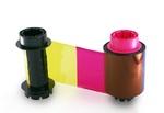 NiSCA Лента полноцветная красящая YMCK для NiSCA PR-C201 500 оттисков (7710004YMCK)